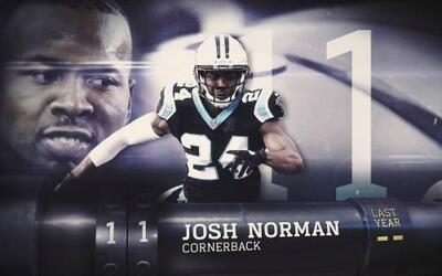 Top 100 Jugadores del 2016: (Lugar 11) DB Josh Norman