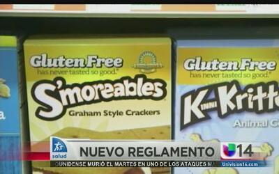 Nuevas reglas para alimentos sin gluten