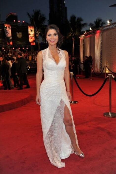 Chiquinquirá Delgado explotó al máximo sus atributos con ese vestido bla...