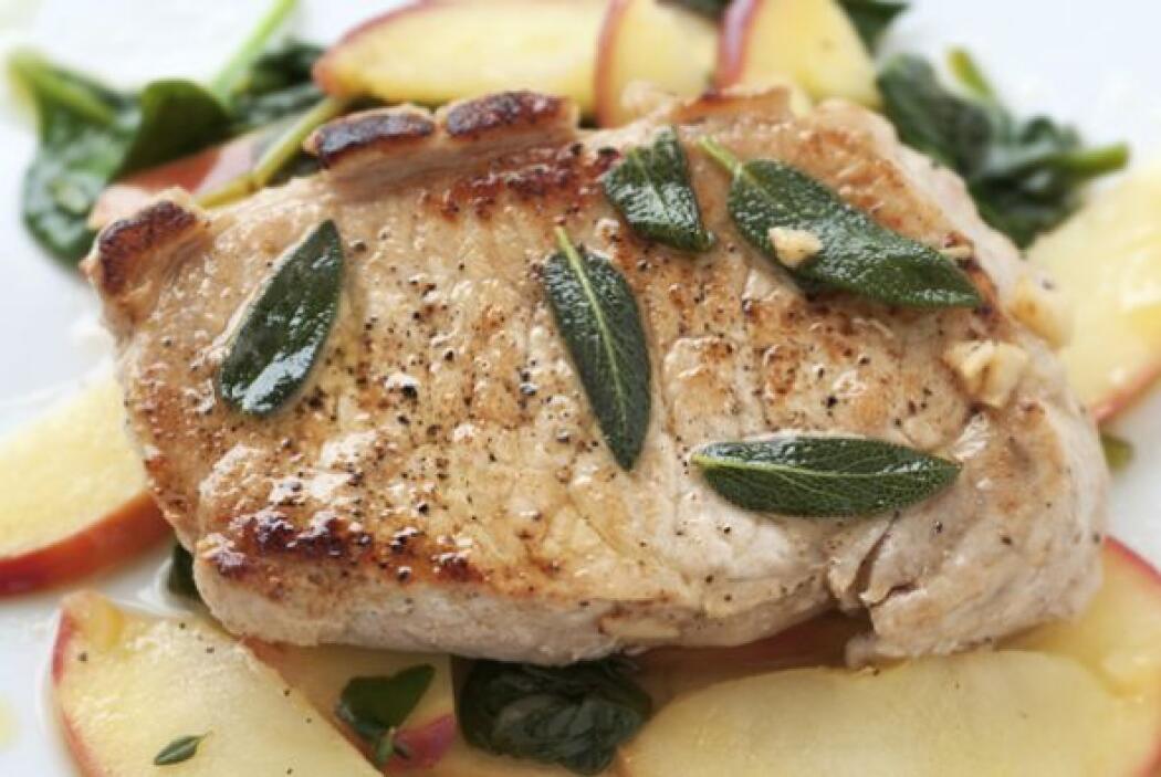 Costilla de cerdo al horno   Es un platillo delicioso, jugoso y que pued...