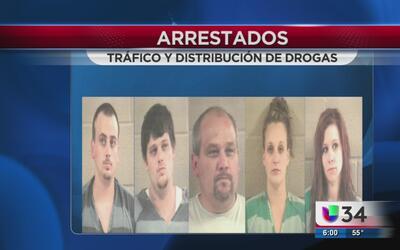 Arrestados por tráfico de drogas en Georgia