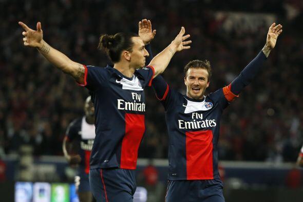 El delantero del París Saint-Germain firmó dos anotaciones ante el Brest...