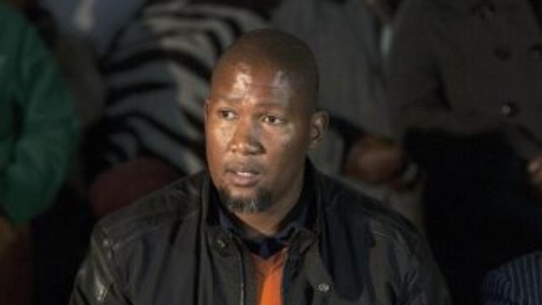 Mandla Mandela, nieto mayor del héroe sudafricano, fue demandado por el...