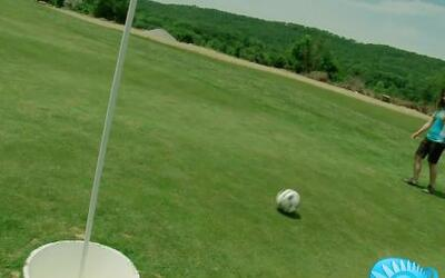 'Futgolf', la nueva pasión para los amantes del futbol y golf