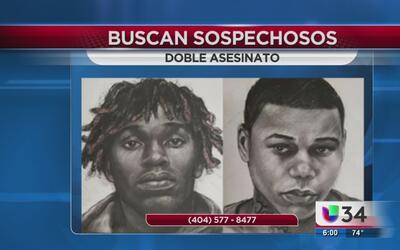 Tras la pista de dos hombres sospechosos de asesinato