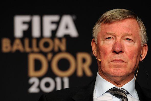 Sir Alex Ferguson era uno de los candadatos a Mejor Entrenador.