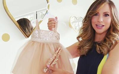Alana, la bebé de Satcha Pretto, encontrará muchos regalos en casa
