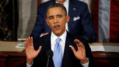 Obama inicia Estado de la Unión defendiendo resultados de gestión