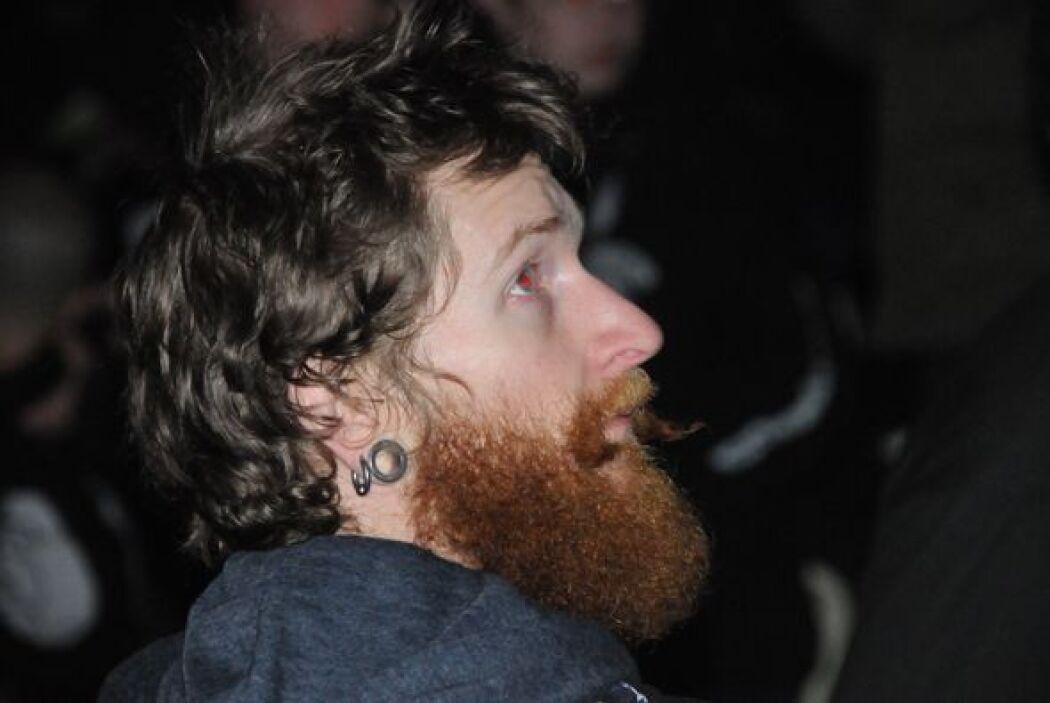 Las barbas largas no faltan en cualquier rincon de la WWE.