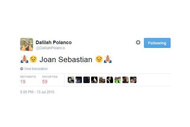 Con profunda tristeza, los famosos expresan su dolor en las redes social...