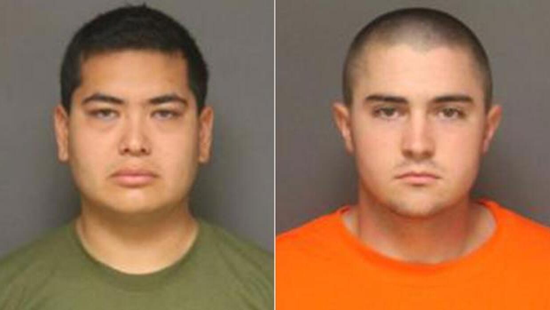 Los detenidos, Josh Acosta y Frank Felix.