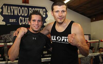 Carlos Cuadras y Jesús Soto Karass dieron entrenamiento pú...