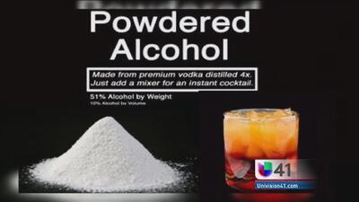 Alcohol en polvo, ¿un nuevo peligro para jóvenes?