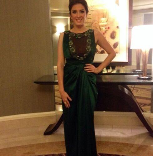 Maity Interiano muy bella, lista para los Latin Grammy