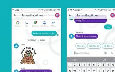 Google lanza una app de mensajes para destronar a WhatsApp