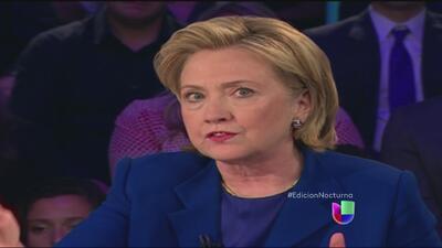 Hillary Clinton opina sobre la crisis de niños migrantes