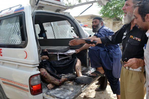 El atentado contra las fuerzas policiales en Quetta podría haber sido pe...