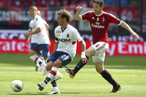 Intensa jornada 33 de la Liga italiana, donde una vez más el Milan inten...