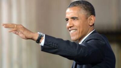 """El presidente Barack Obama y Estados Unidos registraron una caída """"signi..."""