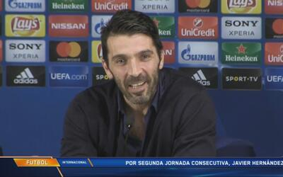 """Buffon y su partido 100 en Champions: """"Estoy decepcionado, pensé que era..."""
