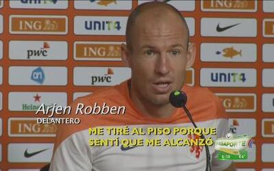 Holanda se prepara y Robben aclara