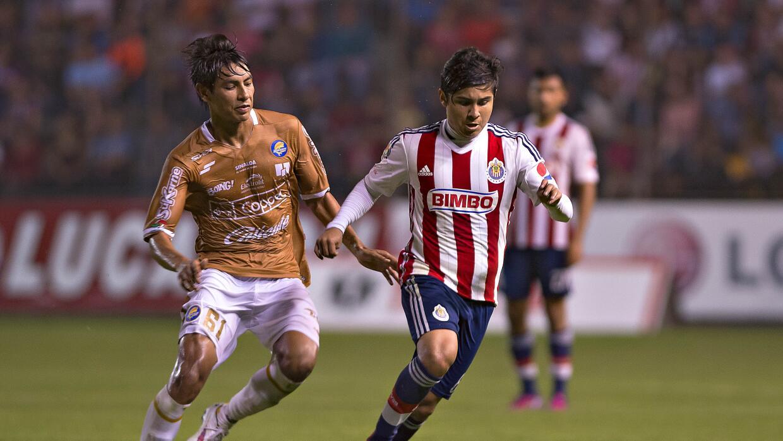 Eduardo López, jugador de Chivas