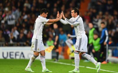 Gareth Bale y James podrían dejar de ser compañeros en el Real Madrid.