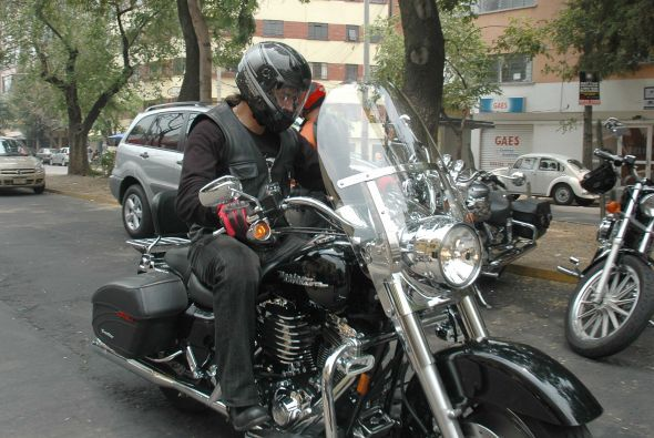 A pesar de que Jorge Salinas ha sufrido varios accidentes por viajar en...