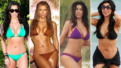 Los bikinis de Kim Kardashian
