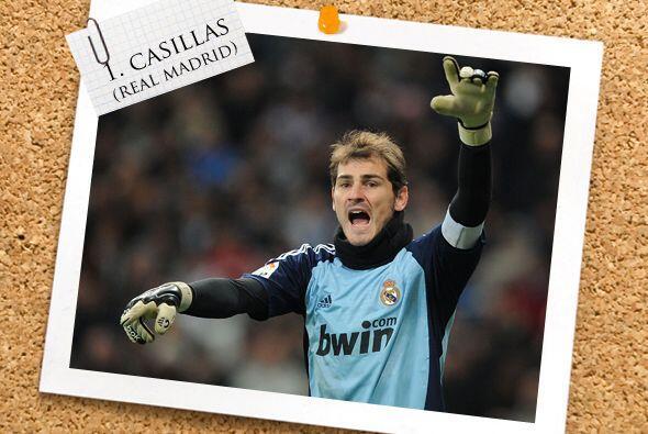 Esta vez, la portería es defendida por Iker Casillas, quien fue el 'culp...