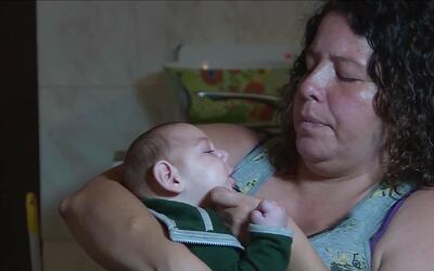 Mujer que tuvo zika cuyo hijo padece microcefalia: ''Ser mamá de él no e...