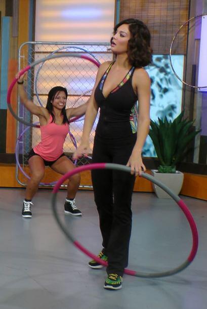 Ana Patricia González y Zuleyka Rivera comenzaron la semana mostrándonos...