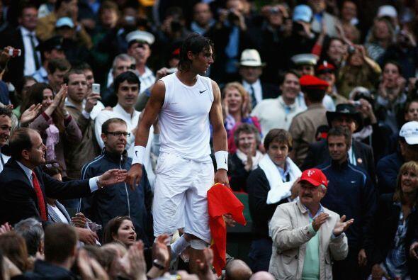 14.- ¡Por fin Wimbledon! Y su cuarto Grand Slam: Nuevamente el mundo del...