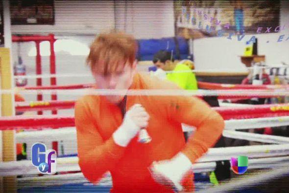 Sobre este encuentro, el boxeador confesó que uno de sus sueños es que V...