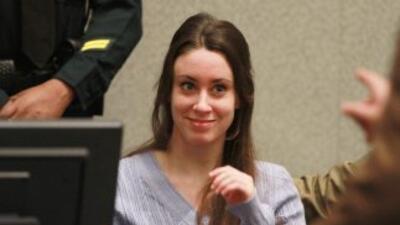 Casey Anthony, juzgada hace un año por la muerte de su hija, dijo que el...