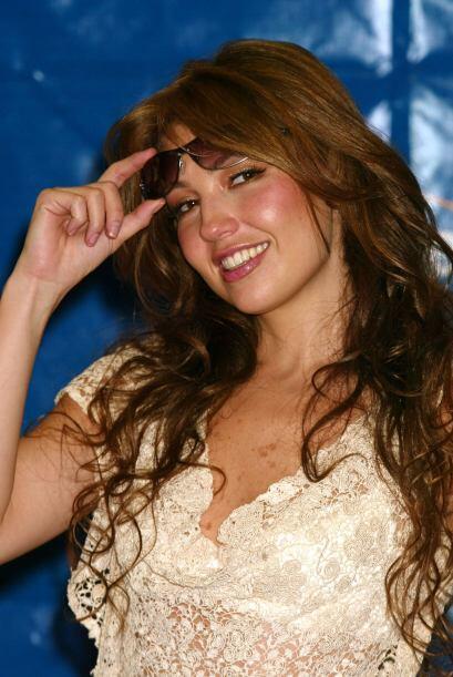 Thalía estuvo medicada y en observación tras contraer una...