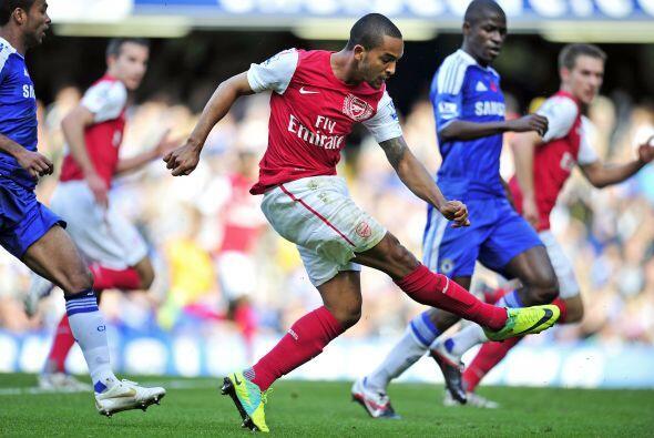 Arsenal se agrandó y marcó el 3 a 2.