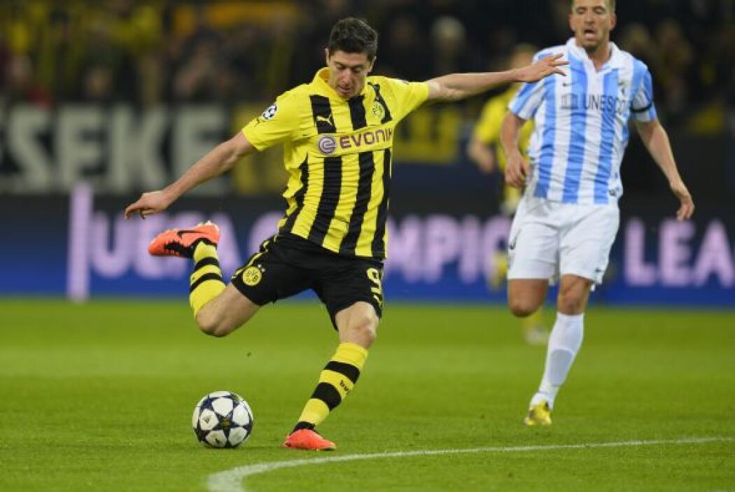 El Dortmund se lanzó en busca del empate.