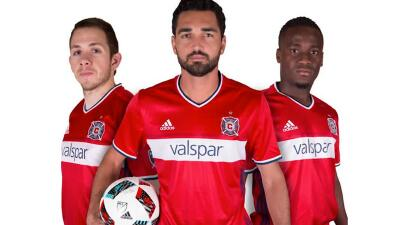 Camiseta 2016 del Chicago Fire