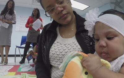 Las madres hispanas de El Bronx recibieron una ayudita de Jackie Guerrid...