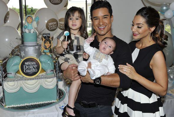 """La pareja organizó el """"baby shower"""" de su adorable nene..."""