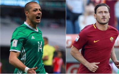 Chicharito 'Hernández y Francesco Totti conmocionaron las redes sociales...