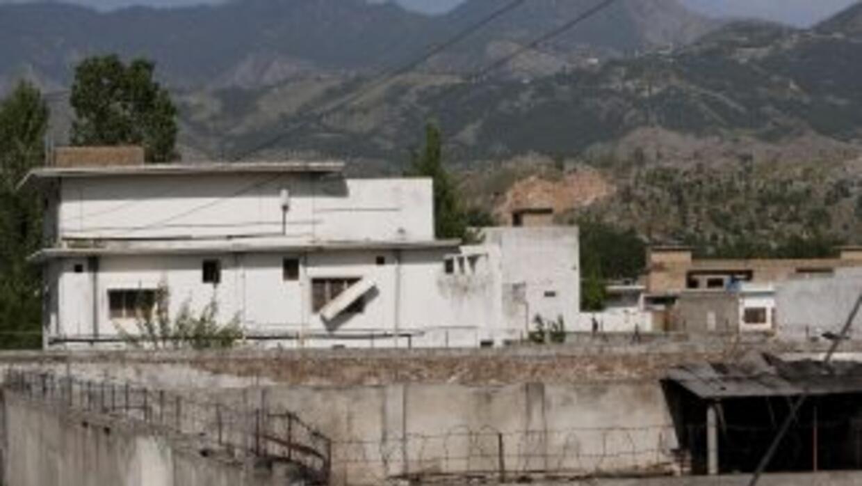 Osama Bin Laden vivía en el segundo piso de la casona en Abbottabad.