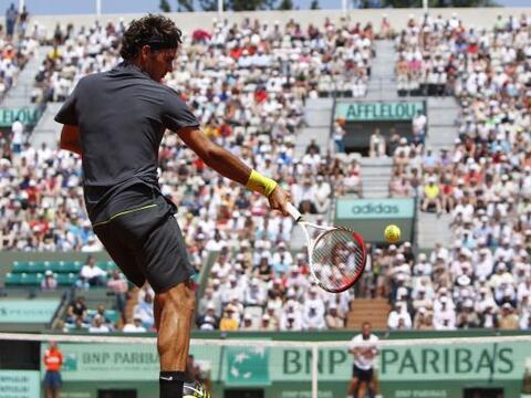 El suizo Roger Federer venció al alemán Tobias Kamke, 78 d...