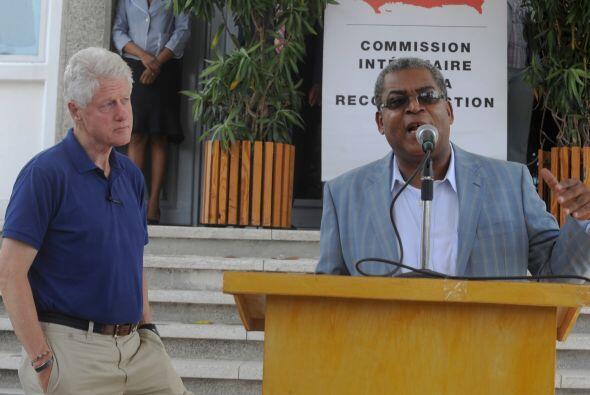 El primer ministro haitiano no ocultó su satisfacción por...