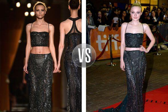 Este Atelier Versace Haute Couture otoño-invierno 2013, en quién lució m...