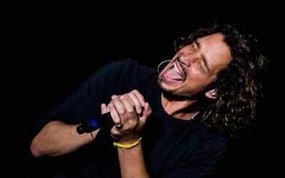 Chris Cornell, vocalista de Soundgarden, en Lollapalooza 2014.