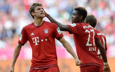 Thomas Müller anotó el gol de la victoria del Bayern Munich.