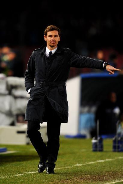 El entrenador del Chelsea, André Villas-Boas, se juega en esta eliminato...