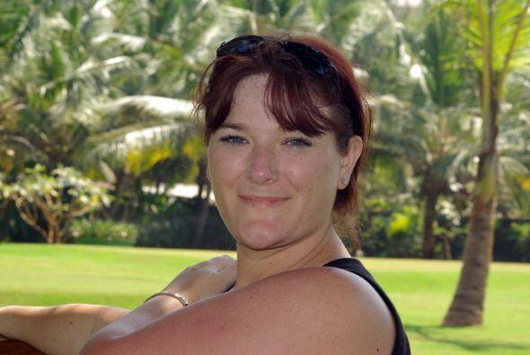Joanne Slater, una mujer que cumplió su enorme deseo de ser madre...